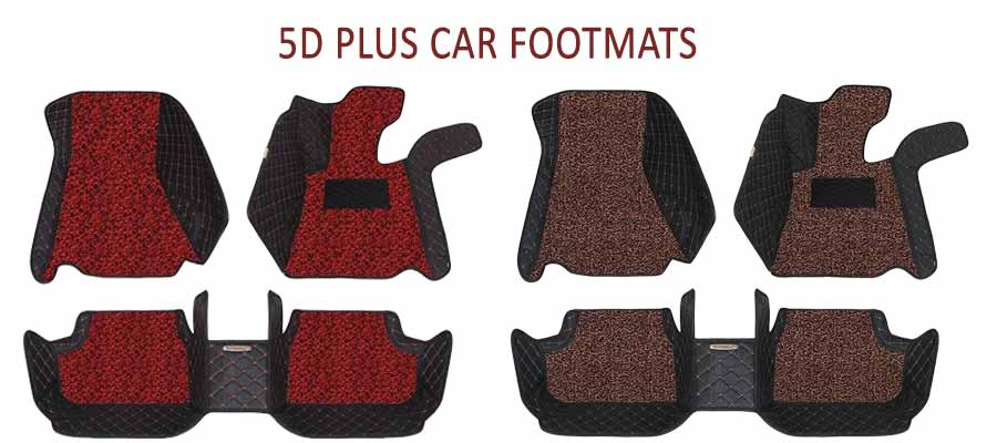 5D Plus Car Foot Mats