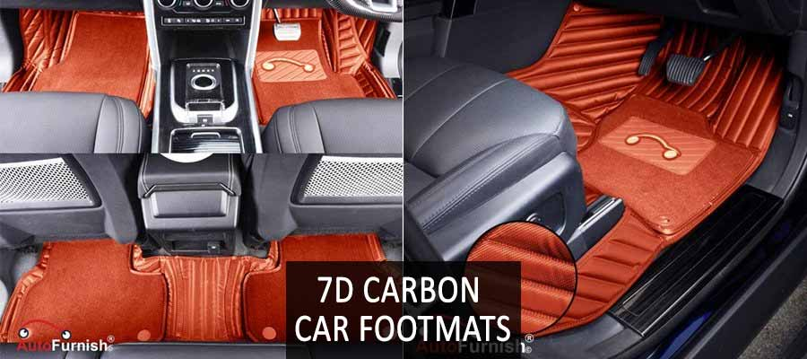 7D Carbon Car Footmats