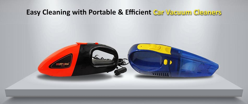 Easy Cleaning With Portable & Efficient Car Vacuum Cleaners