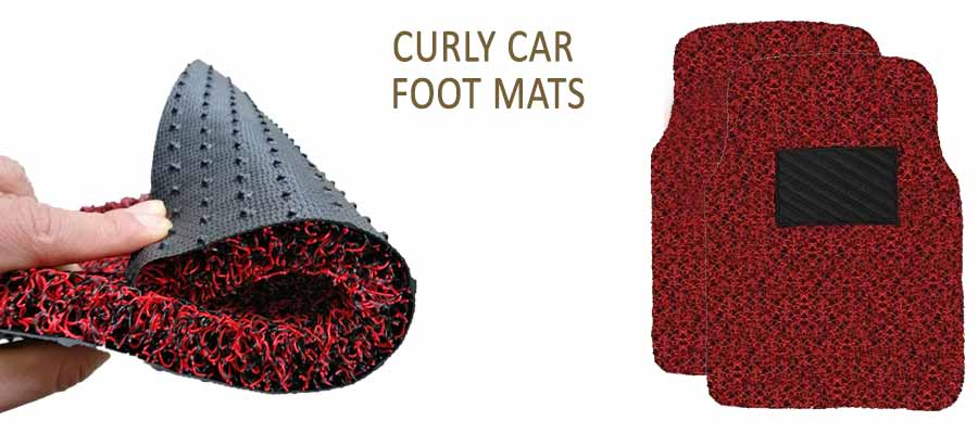 Curly Car Foot Mats
