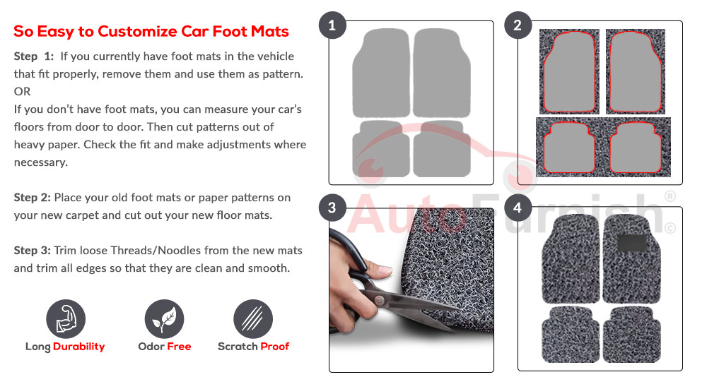 Autofurnish Car Footmats