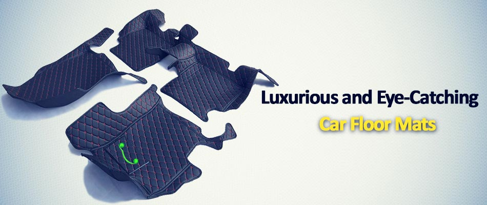 Luxurious and Eye-Catching Car Floor Mats