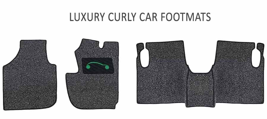 Luxury Curly Car Footmats