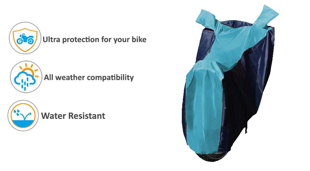 Sporty-Aqua-Blue-Bike-Cover