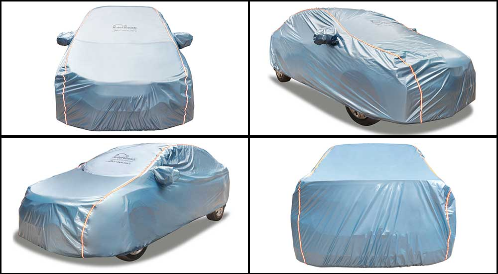 Acho Blue Car Body Cover