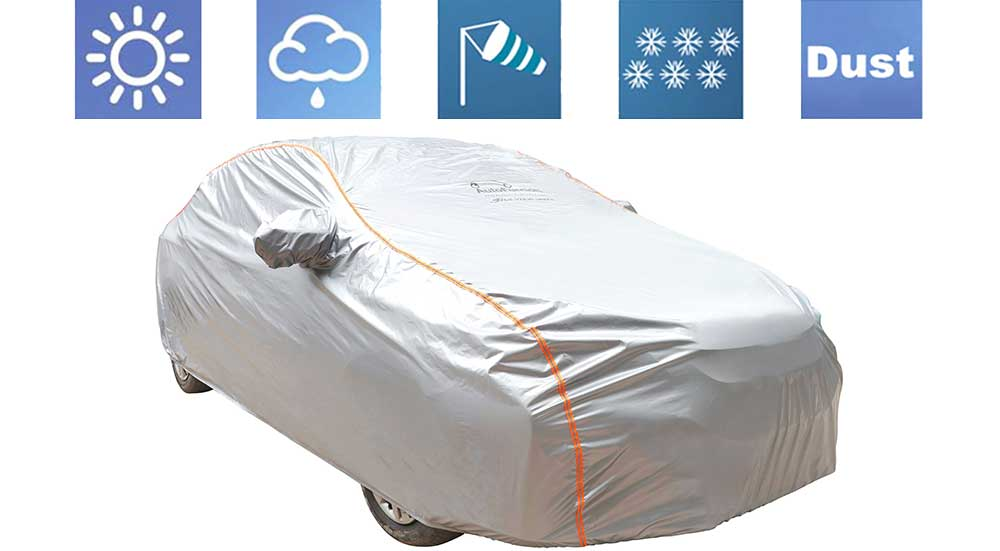 Acho Silver Car Body Cover