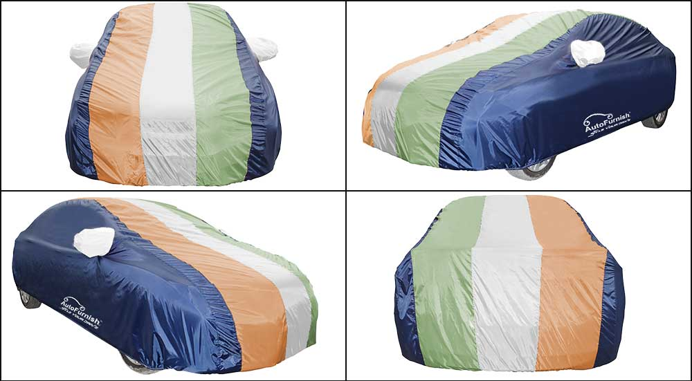 Freedom Tri Stripe Car Body Cover