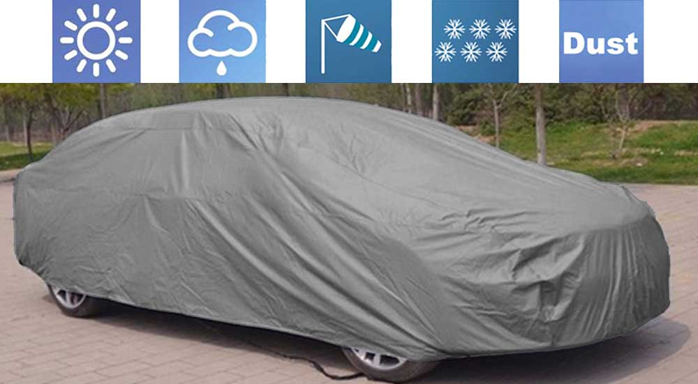Matty Grey Car Body Cover