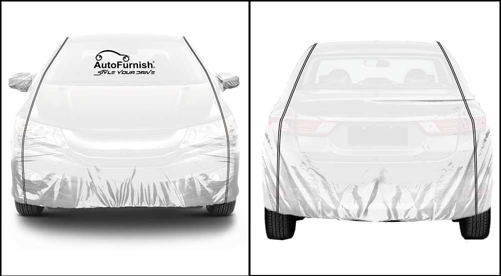 Parkin White Car Body Cover