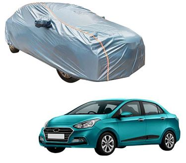 Picture of Acho Premium 100% Waterproof Car Body Cover For Hyundai Xcent 2017 - Acho Blue