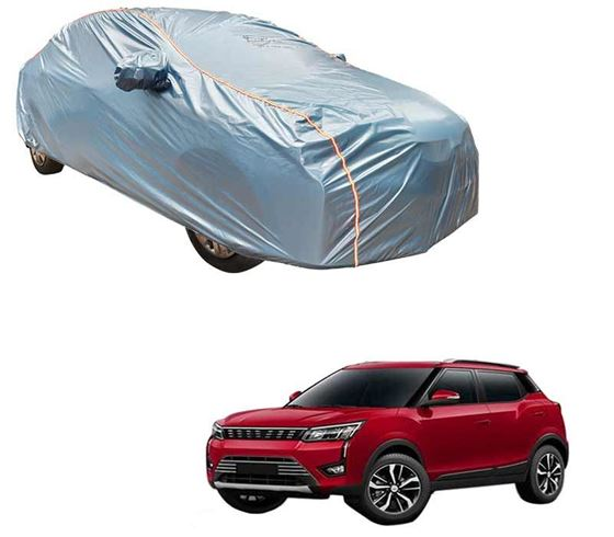 Picture of Acho Premium 100% Waterproof Car Body Cover For Mahindra XUV300 2019 - Acho Blue