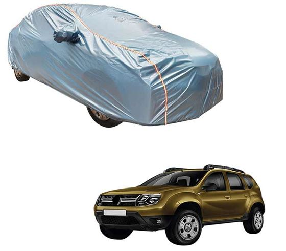 Picture of Acho Premium 100% Waterproof Car Body Cover For Renault Duster - Acho Blue