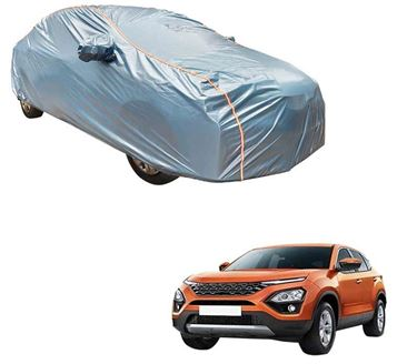 Picture of Acho Premium 100% Waterproof Car Body Cover For Tata Harrier 2019 - Acho Blue