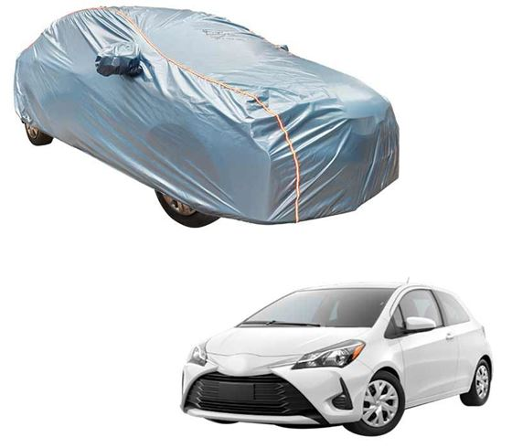 Picture of Acho Premium 100% Waterproof Car Body Cover For Toyota Yaris - Acho Blue