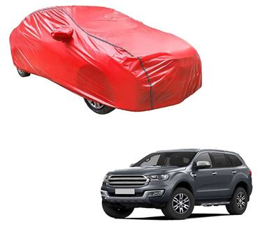 Picture of Acho Car Body Cover For Ford Endeavour 2017 - Acho Red