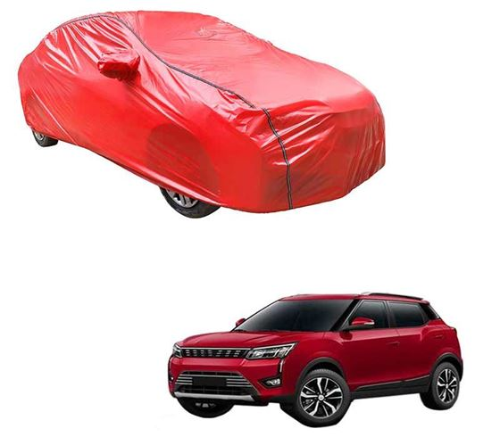 Picture of Acho Car Body Cover For Mahindra XUV300 2019 - Acho Red