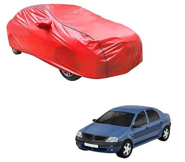Picture of Acho Car Body Cover For Renault Logan Edge - Acho Red