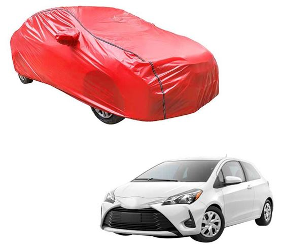 Picture of Acho Car Body Cover For Toyota Yaris - Acho Red