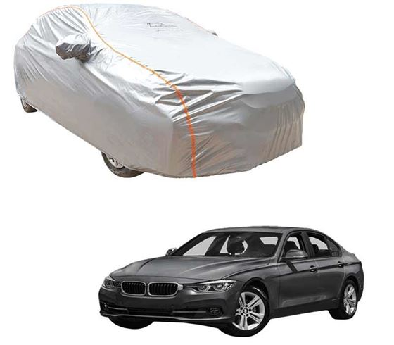 Picture of Acho Premium 100% Waterproof Car Body Cover For BMW 3 Series - Acho Silver