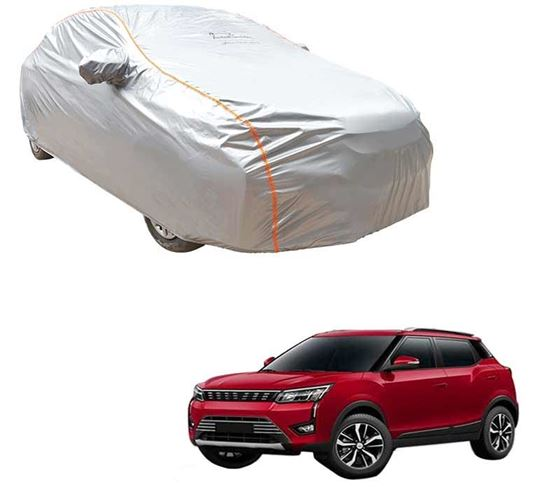 Picture of Acho Premium 100% Waterproof Car Body Cover For Mahindra XUV300 2019 - Acho Silver