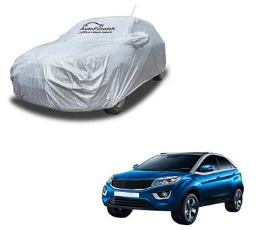Picture of Aero Waterproof Heat Resistant Mirror and Antenna Pocket Car Body Cover Compatible With Tata Nexon - Aero SIlver