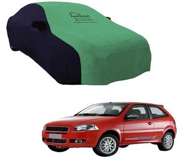 Picture of Dual Tone Green Blue Car Body Cover For Fiat Palio NV - Sporty Blue
