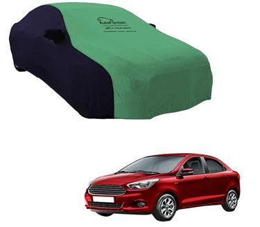 Picture of Dual Tone Green Blue Car Body Cover For Ford Figo Aspire - Sporty Blue