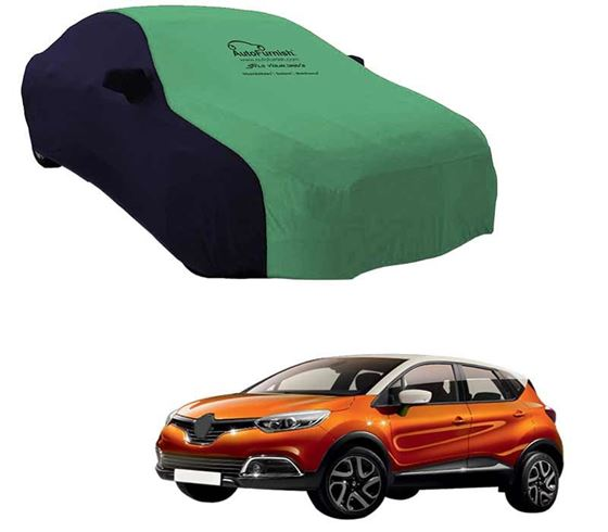 Picture of Dual Tone Green Blue Car Body Cover For Renault Captur 2019 - Sporty Blue