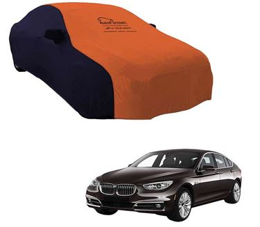 Picture of Dual Tone Orange Blue Car Body Cover For BMW 5 Series GT - Sporty Blue