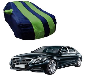 Picture of Stylish Green Stripe Car Body Cover For Mercedes Benz S560 Maybach 2015 - Arc Blue