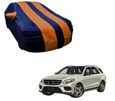 Picture of Stylish Orange Stripe Car Body Cover For Mercedes Benz GLE AMG 2018 - Arc Blue