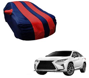 Picture of Stylish Red Stripe Car Body Cover For Lexus RX 450h 2017 - Arc Blue