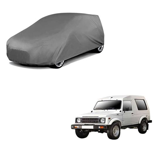 Picture of Car Body Cover For Maruti Gypsy - Matty Grey