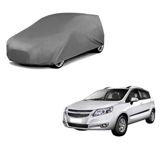 Picture of Car Body Cover For Chevrolet Sail Hatchback - Matty Grey
