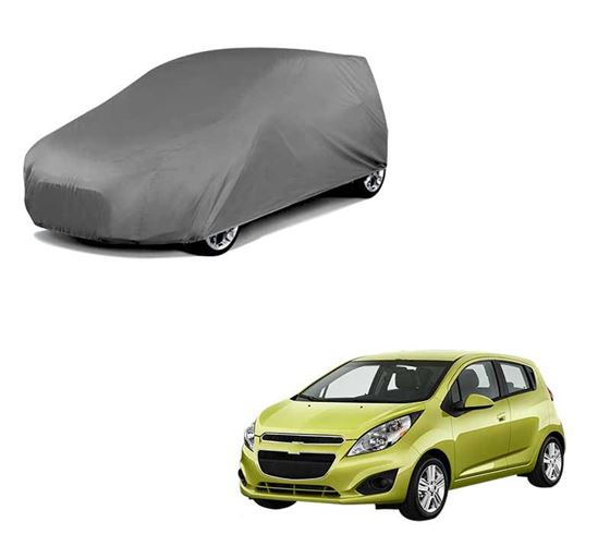 Picture of Car Body Cover For Chevrolet Spark - Matty Grey
