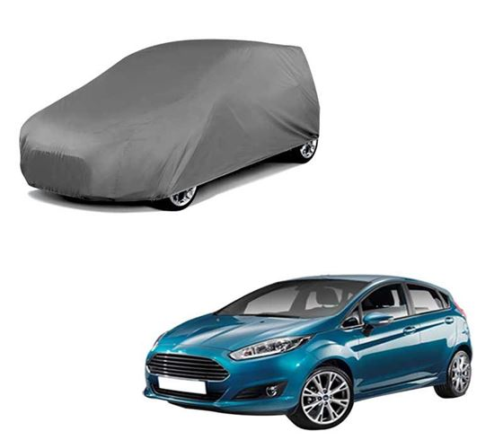 Picture of Car Body Cover For Ford Fiesta - Matty Grey