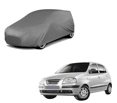 Picture of Car Body Cover For Hyundai Santro Xing - Matty Grey