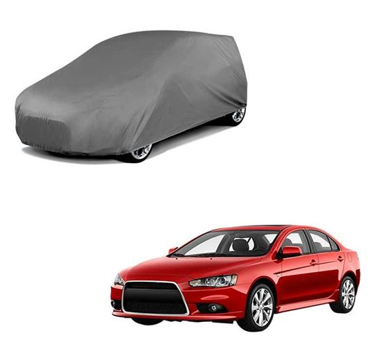 Picture of Car Body Cover For Mitsubishi Lancer - Matty Grey