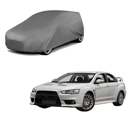 Picture of Car Body Cover For Mitsubishi Lancer Evolution - Matty Grey