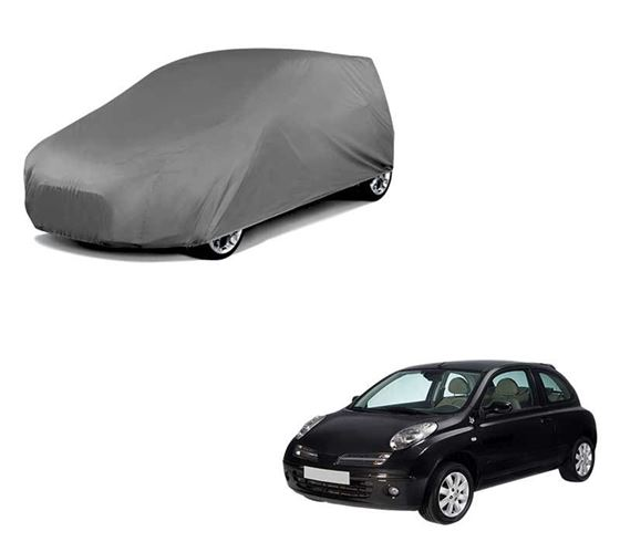 Picture of Car Body Cover For Nissan Micra - Matty Grey