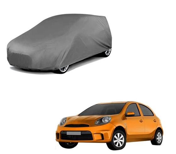 Picture of Car Body Cover For Nissan Micra Active - Matty Grey