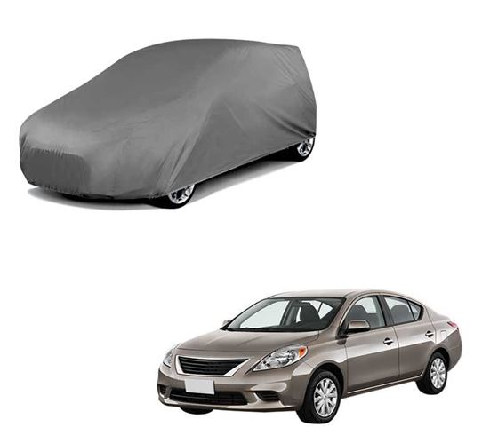 Picture of Car Body Cover For Nissan Sunny - Matty Grey