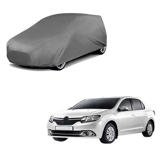 Picture of Car Body Cover For Renault Logan - Matty Grey