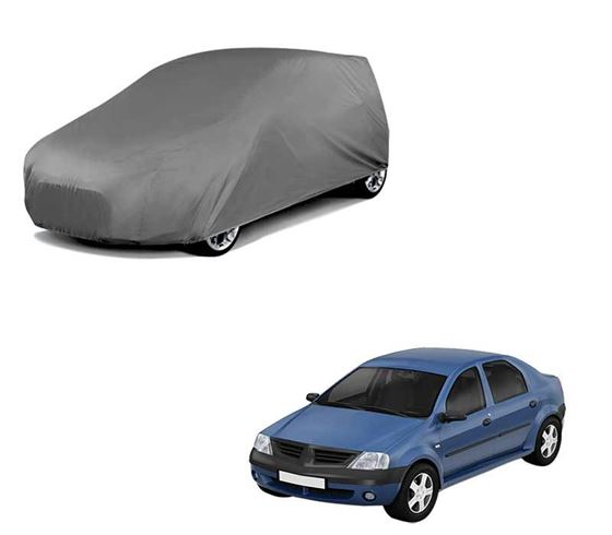 Picture of Car Body Cover For Renault Logan Edge - Matty Grey