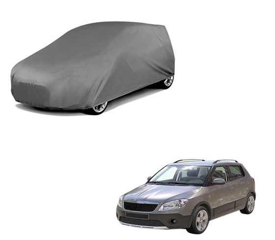 Picture of Car Body Cover For Skoda Fabia Scout - Matty Grey