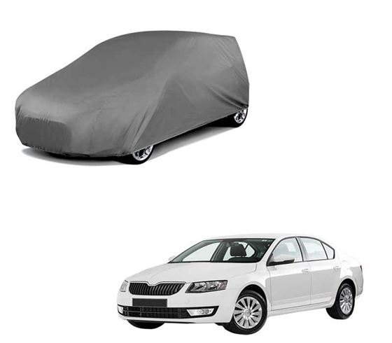 Picture of Car Body Cover For Skoda Octavia - Matty Grey