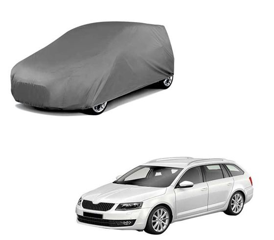 Picture of Car Body Cover For Skoda Octavia Combi - Matty Grey