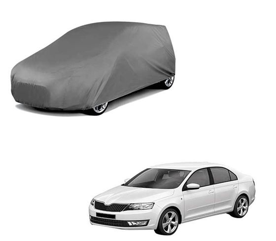 Picture of Car Body Cover For Skoda Rapid - Matty Grey