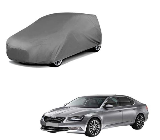Picture of Car Body Cover For Skoda Superb - Matty Grey