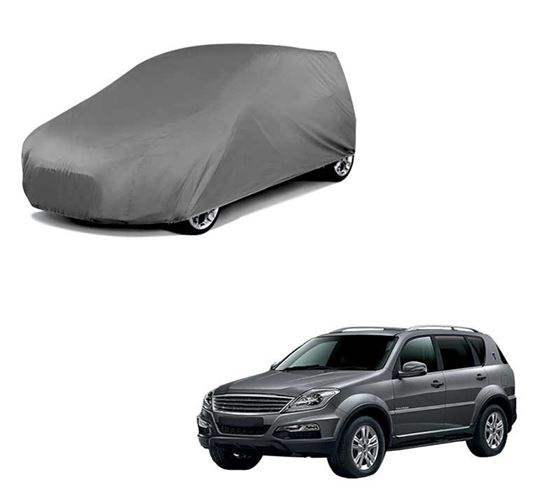 Picture of Car Body Cover For Ssangyong Rexton - Matty Grey